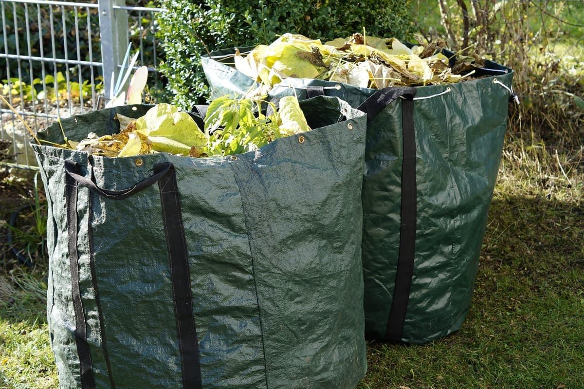 Garden Trimmings in a bag