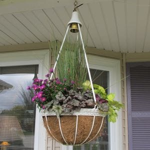 Lighted hanging Baskets- Fall