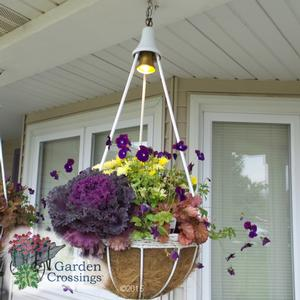Lighted Hanging Basket Fall Combo