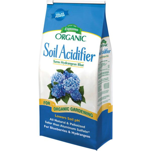 Espoma® Organic Soil Acidifier - Turns Hydrangeas Blue