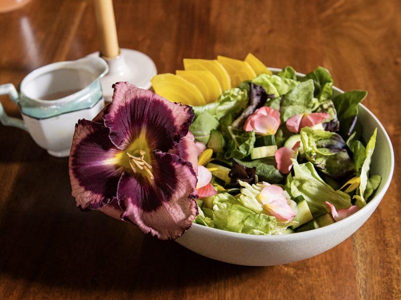 Daylily on salad_Proven Winners