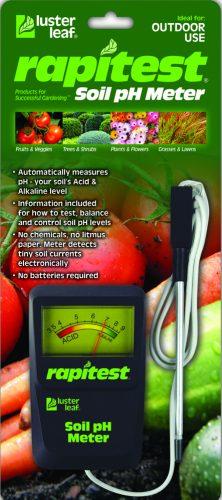 Rapitest soil pH meter_LusterLeaf pic