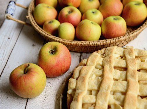 apple pie stock photo web