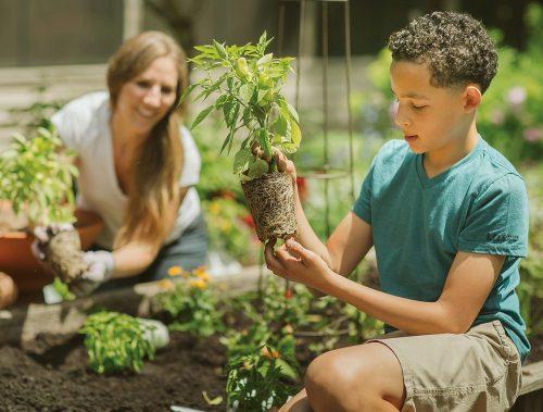 child gardening w mother_PW web